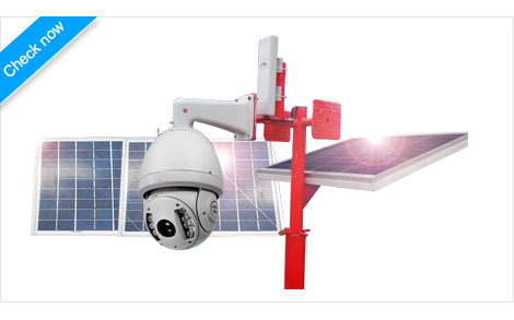 Dahua CCTV IP PTZ with Solar Power